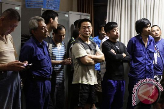 Polres Bogor amankan 38 pekerja asal Tiongkok