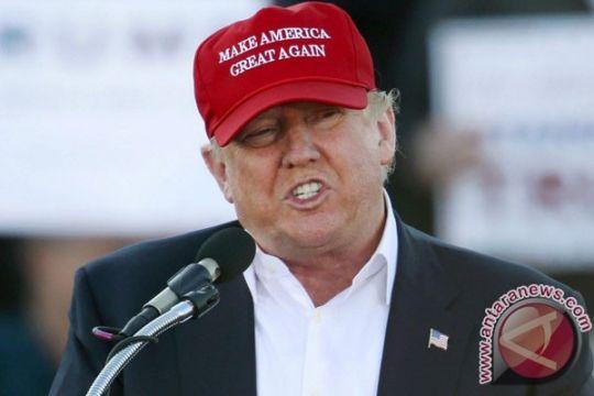 Trump kritik aksi protes terhadap dirinya