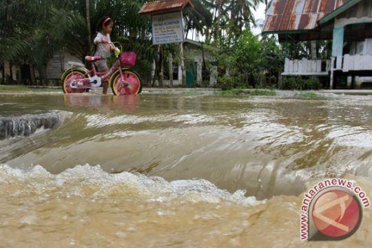 183 rumah di dua kecamatan Aceh Barat terendam banjir