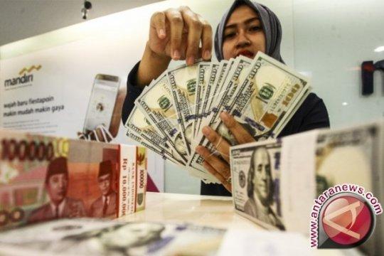 Rupiah hari ini diperkirakan sedikit tertekan akibat dolar menguat