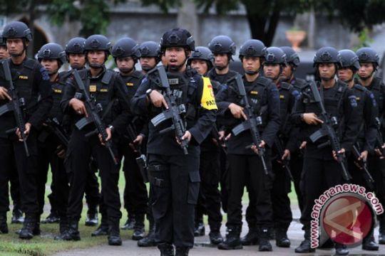 Polda Lampung kirim 400 anggota Brimob ke Jakarta