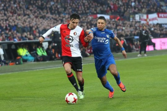 Feyenoord libas NEC 4-0