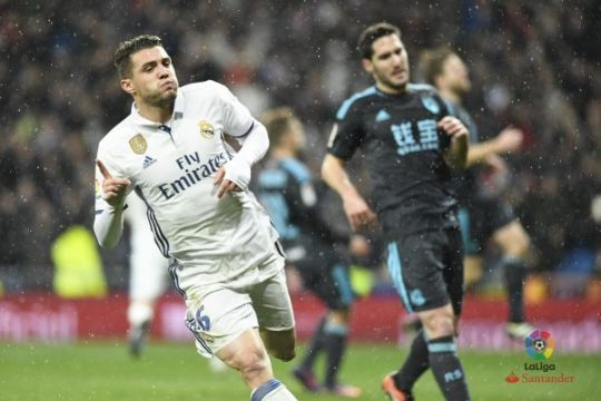 Kovacic cetak gol debut saat Madrid hantam Sociedad 3-0