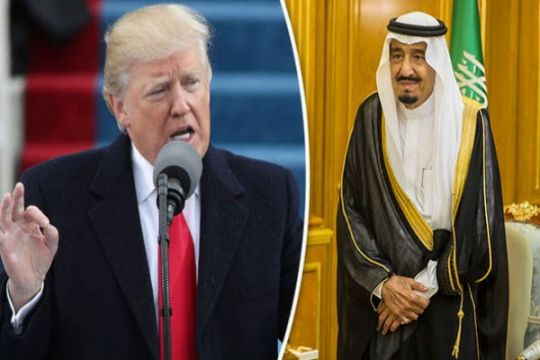 Trump-Raja Salman sepakati zona aman di Suriah & Yaman