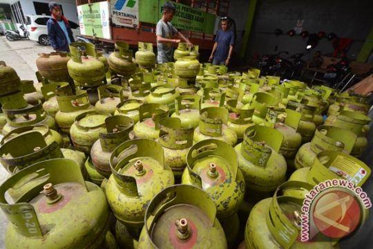 Harga gas subsidi untuk rumah tangga di Kalteng capai Rp30 ribu per tabung