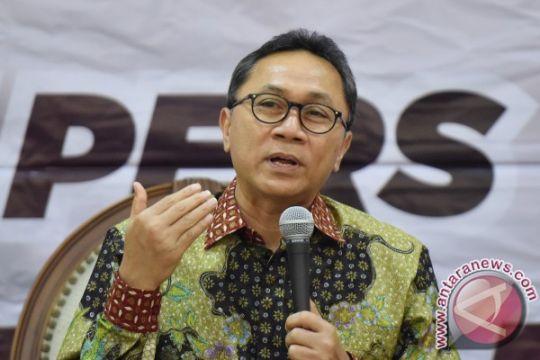 "Zulkifli Hasan: ketua DPR sudah pindah ""kantor"""