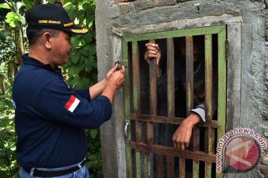 16 orang gangguan jiwa Lampung dibebaskan dari pasung