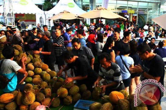Ribuan turis lokal dan asing meriahkan festival durian Bintan