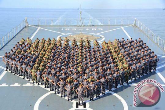 Peserta Apel Komandan Satuan TNI AL 2017 uji ketangkasan