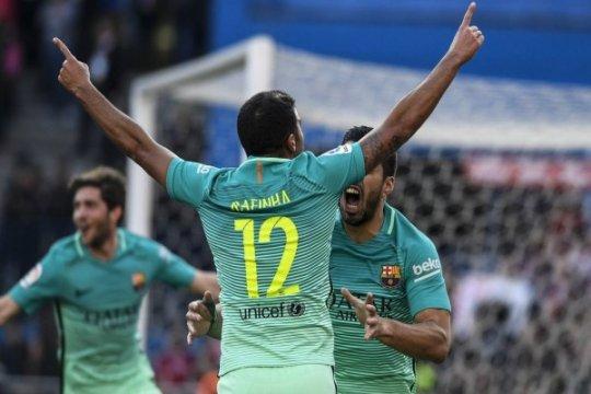 Rafinha diragukan tampil saat Barcelona hadapi Juventus