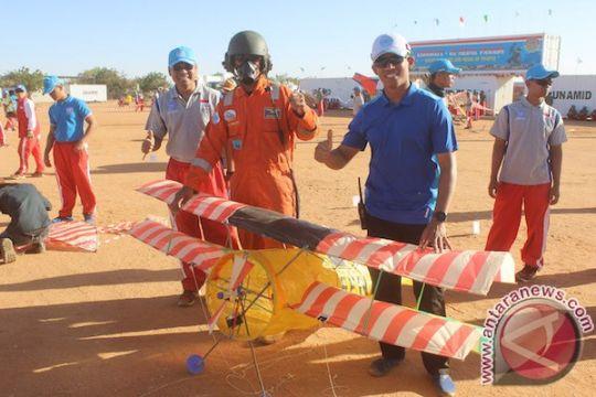 Pasukan Indonesia di Darfur gelar festival layang-layang