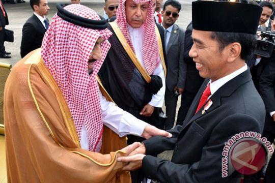 Presiden Jokowi: Kunjungan Raja Salman titik peningkatan kerja sama