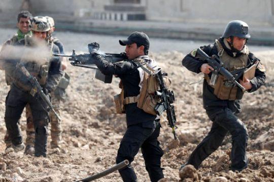 Tentara Irak kontak senjata sengit dengan ISIS di Mosul