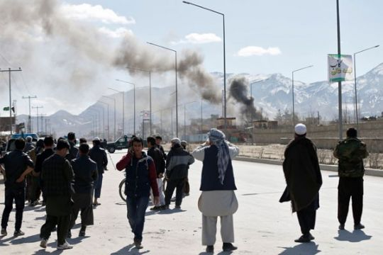 Serangan udara tewaskan 12 gerilyawan di Afghanistan utara