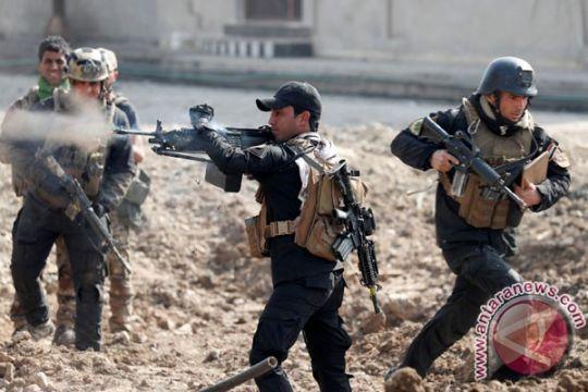 Pasukan Irak serbu pangkalan milisi dukungan Iran