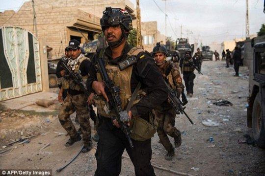 Bentrokan di Irak tewaskan 2 orang, lukai 200 lainnya