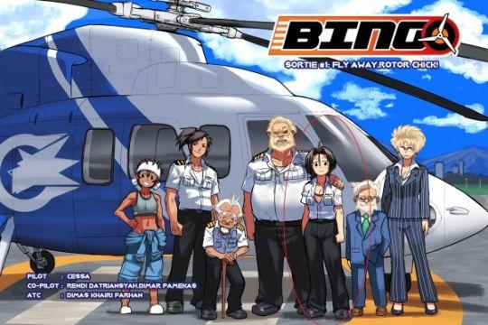 Bingo, kisah petualangan pilot perempuan pertama Indonesia