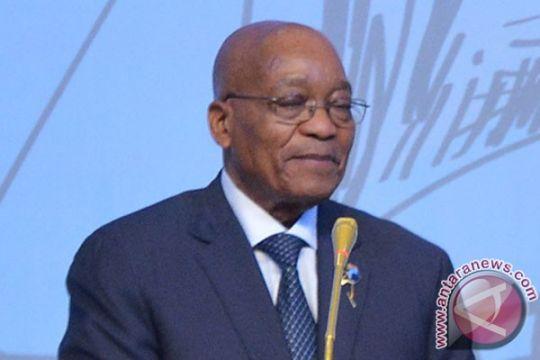 Presiden Afrika Selatan Jacob Zuma mundur di tengah tekanan