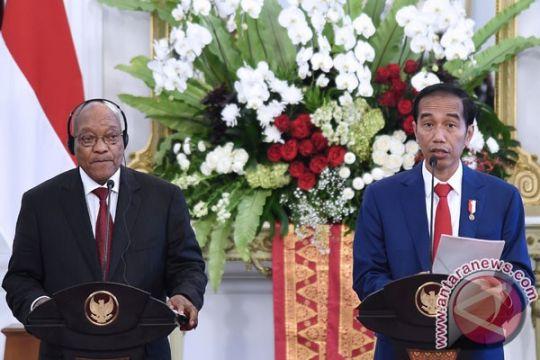 Presiden Jokowi terima kunjungan kenegaraan Presiden Afrika Selatan