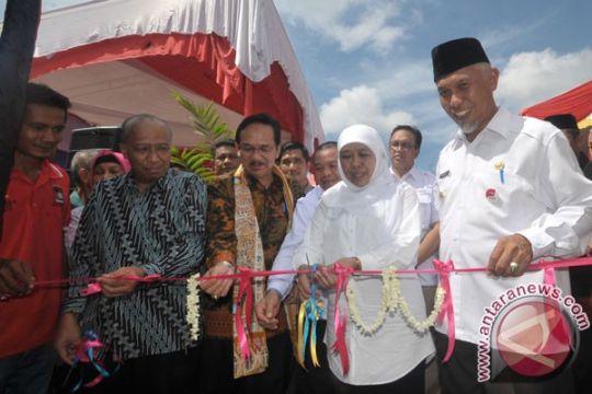 Mensos resmikan kampung untuk gelandangan-pengemis di Padang