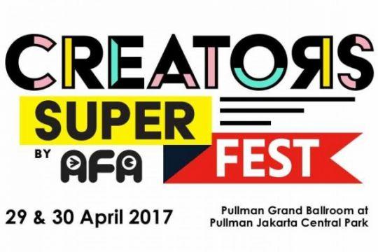 Creators Super Fest 2017 pertemukan penikmat dan pencipta budaya pop