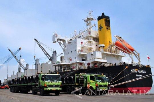 BPS: Kinerja ekspor Jawa Timur pada Februari naik 11,05 persen