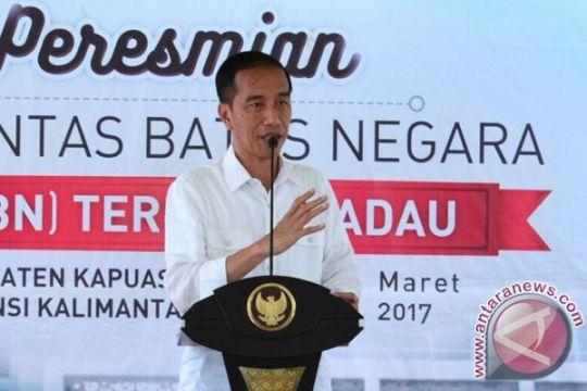 Presiden: Waduk Sei Gong selesai pertengahan 2018