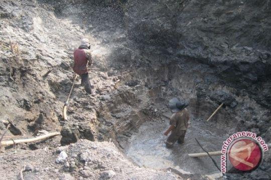 Polisi Bangka Tengah tertibkan tambang timah ilegal