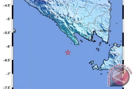 Gempa magnitudo 4,4 guncang Pesisir Barat Lampung