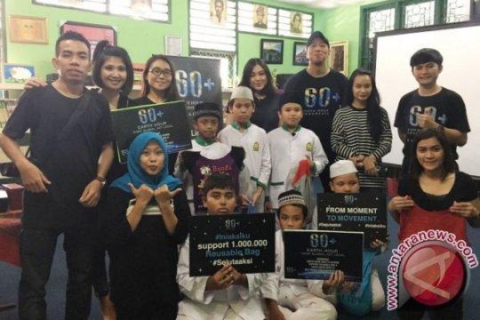 Best Western Plus Kemayoran Hotel peringati Earth Hour di sekolah Obama