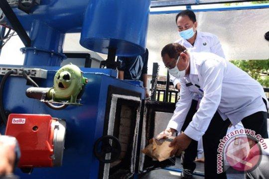 Polisi musnahkan 6,4 kilogram sabu-sabu di Makassar