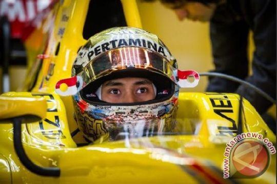 Pertamina Arden gagal tambah poin di lomba sprint F2 Bahrain
