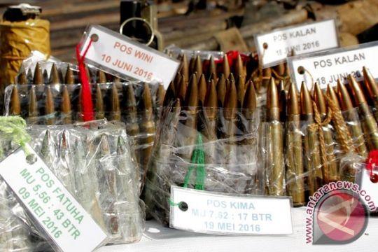 Puluhan peluru ditemukan juru parkir di Bandung
