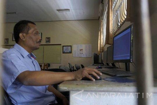 Pelaksanaan UNBK SMA di Tulungagung sempat terkendala koneksi internet