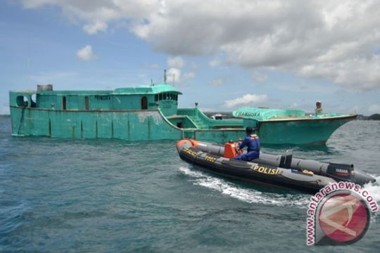 Menkeu akan bantu penanganan aset kapal ilegal