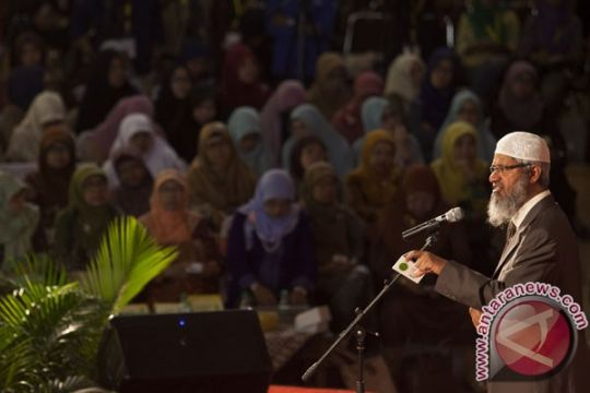 Zakir Naik: umat Islam diharapkan jadi agen baik