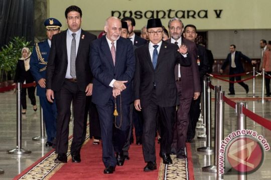 Presiden Afghanistan bertemu MPR