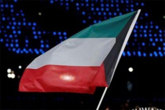Kepergian Emir Kuwait diiringi bendera setengah tiang