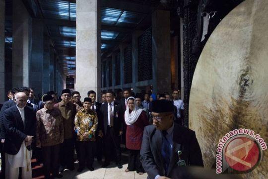 Presiden Afghanistan saksikan budaya Islam Masjid Istiqlal