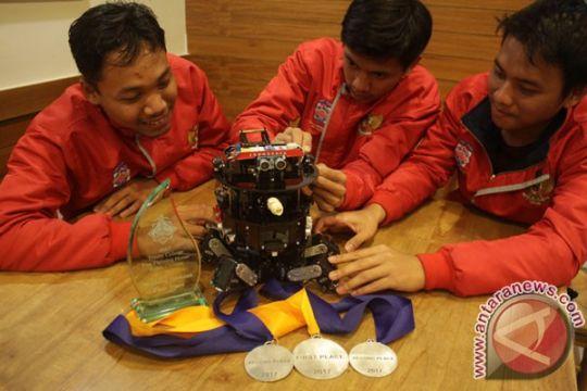 Indonesia juara umum kompetisi robot internasional