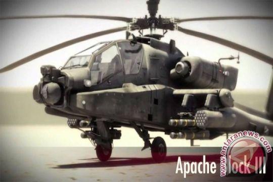 Apache dan kapal selam meriahkan HUT TNI ke-72