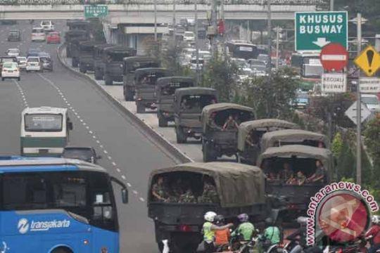 Prajurit Paskhas TNI AU bantu amankan Pilkada DKI