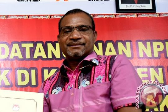 KPU Papua tetapkan dua pasangan calon gubernur/wagub