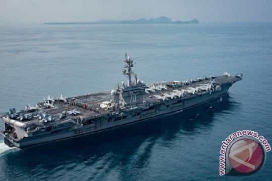 Gugus Tugas USS Carl Vinson berlayar dekat perairan Indonesia