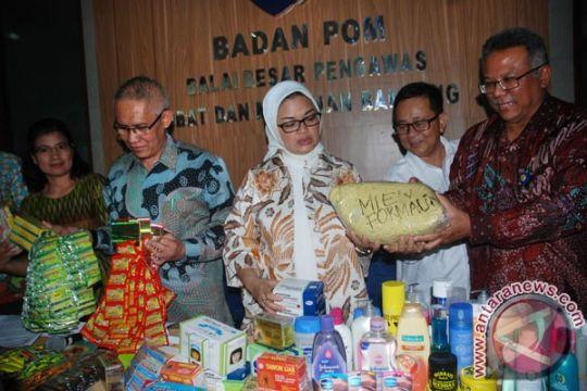 BBPOM Medan musnahkan produk ilegal senilai Rp3,8 miliar