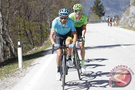 Juara Giro d'Italia Scarponi tewas dalam kecelakaan saat latihan