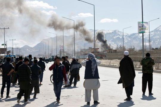 Lebih selusin tewas saat pesawat serang persembunyian Taliban