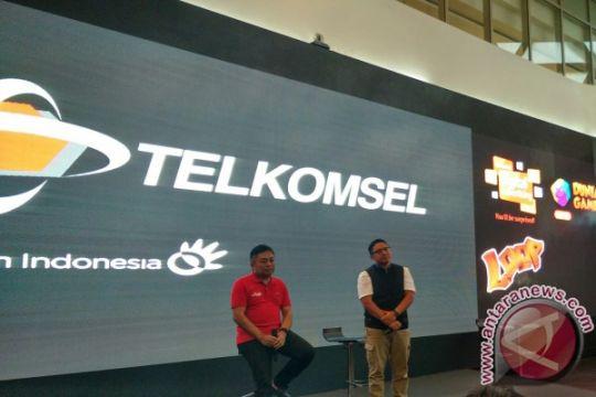 Trafik layanan data Telkomsel melonjak 136 persen
