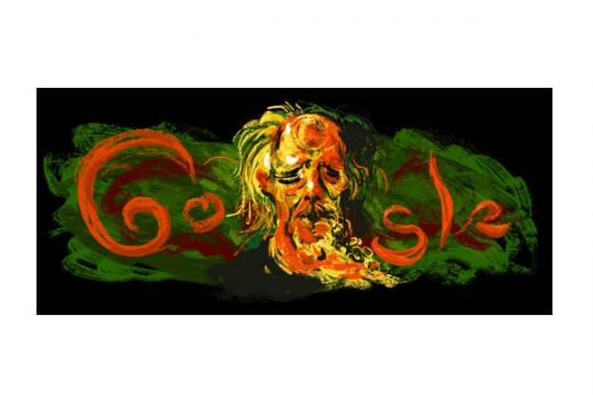 Google Indonesia peringati ulang tahun pelukis Affandi