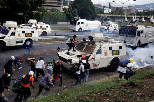 Korban jiwa akibat protes anti-pemerintah di Venezuela jadi 39 orang